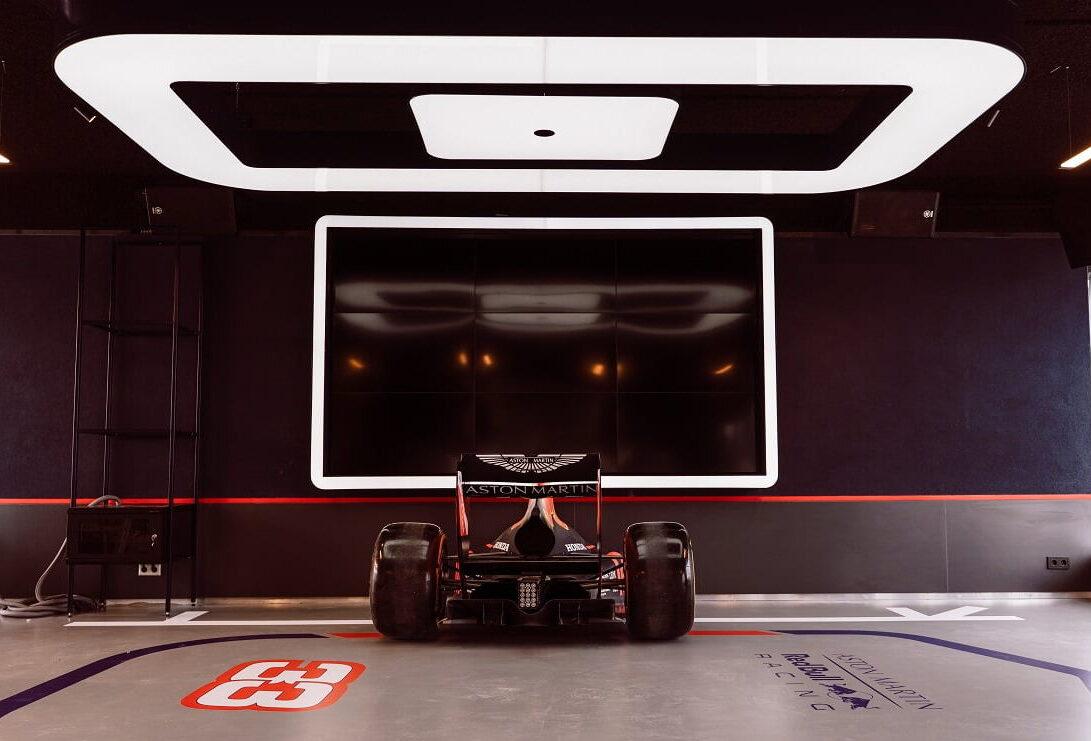 Led lichtbak Redbull formule 1 racing
