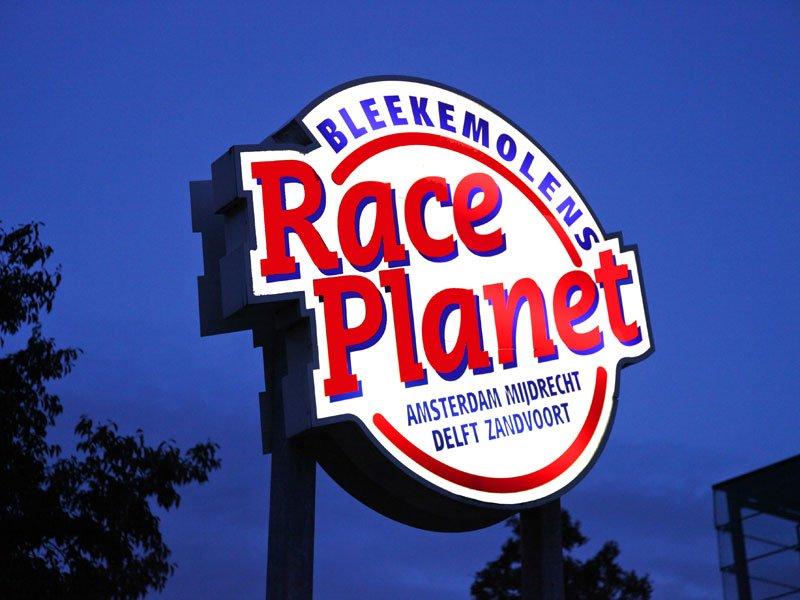 Race planet lichtbak