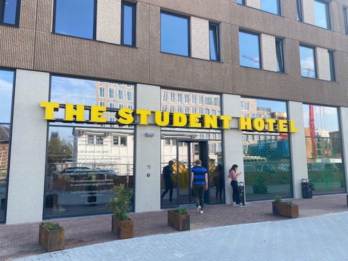 Doosletters student hotel Delft