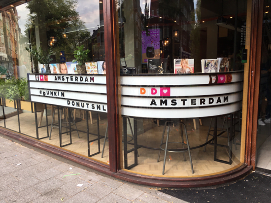 Dunkin Donuts Beethovenstraat Amsterdam (1)