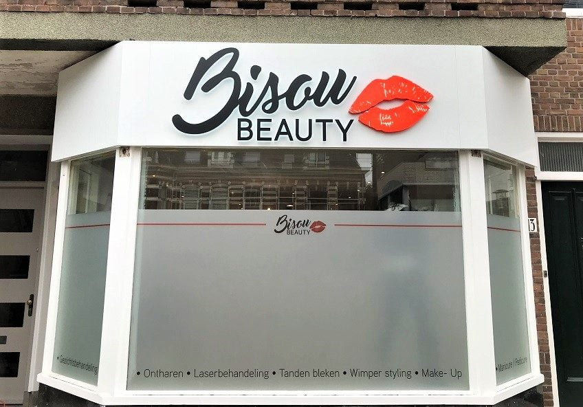 Freesletters met licht bisou beauty
