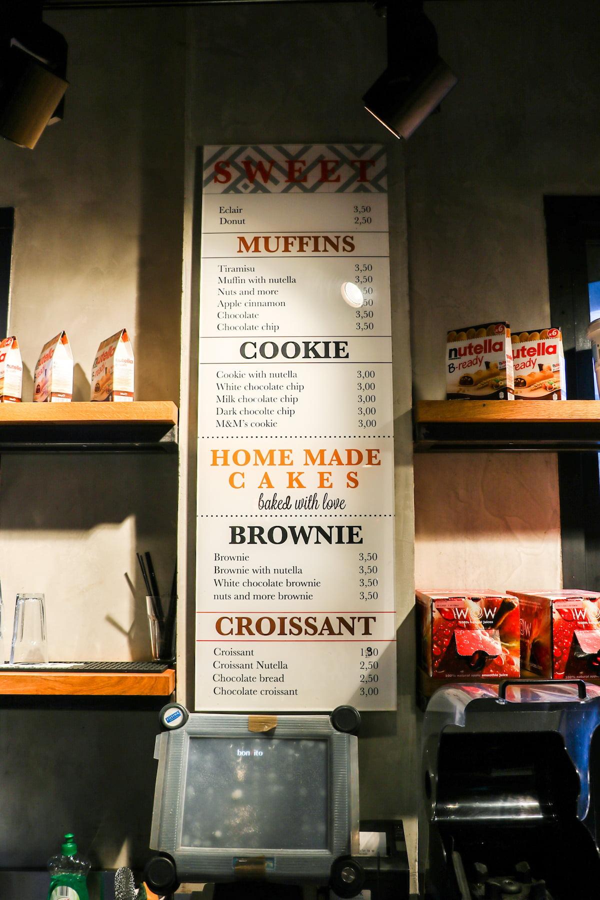 Panelen - Bakery cafe