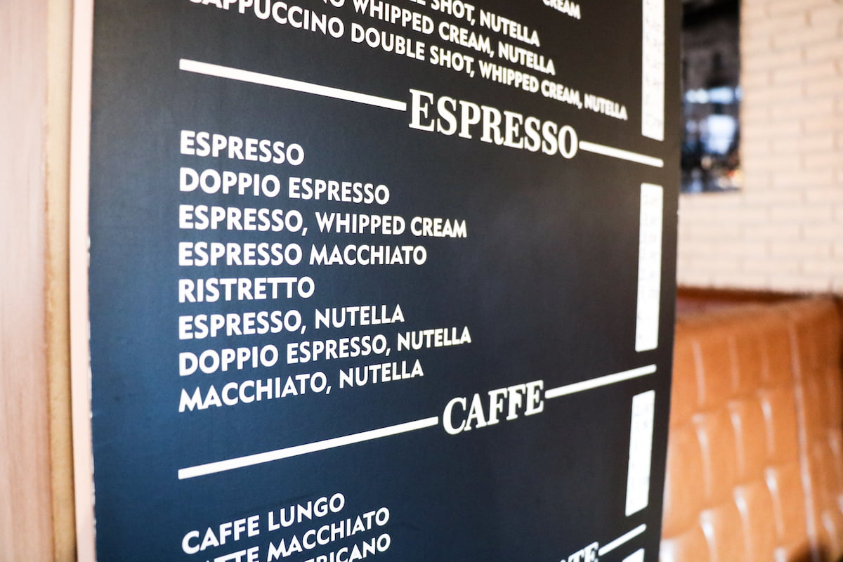 Panelen menu Bakery Cafe - Instore signing -7