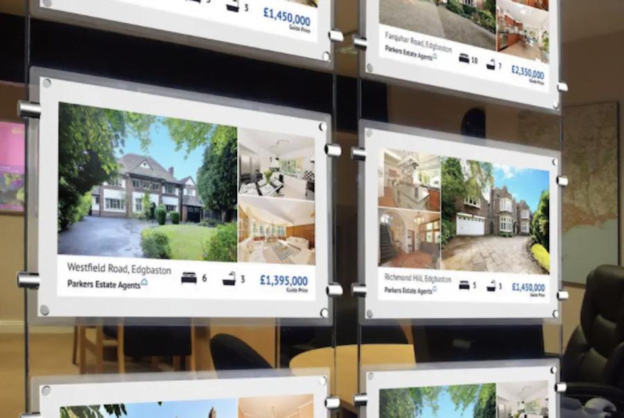 Real estate display